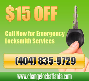 Change Lock Atlanta GA Coupon
